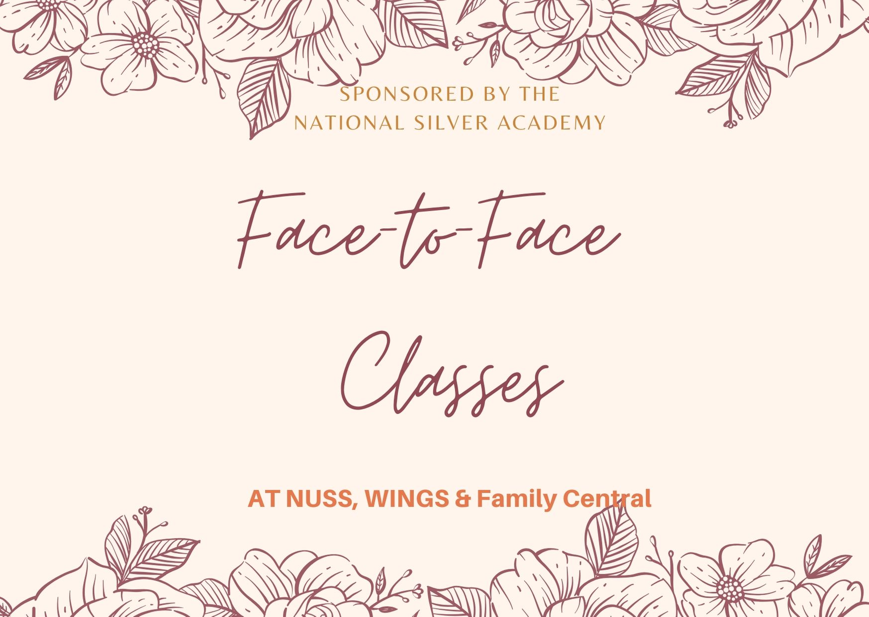 Face to face class