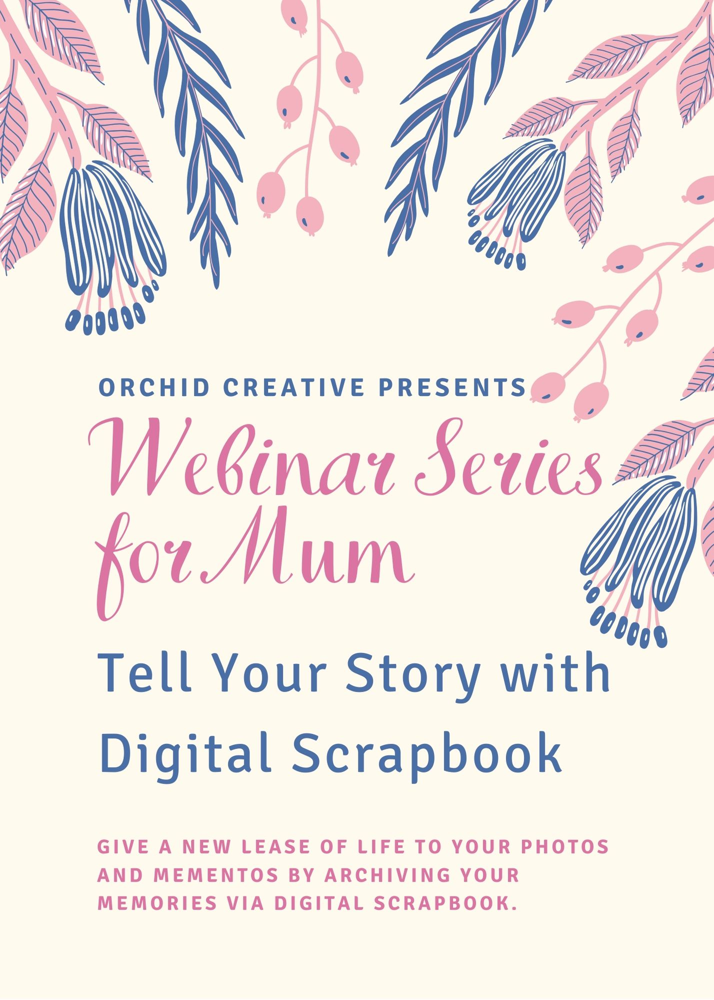 Webinar Series for Mum Page 1