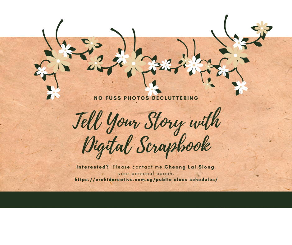 Interested in Tell Your Story with Digital Scrapbook