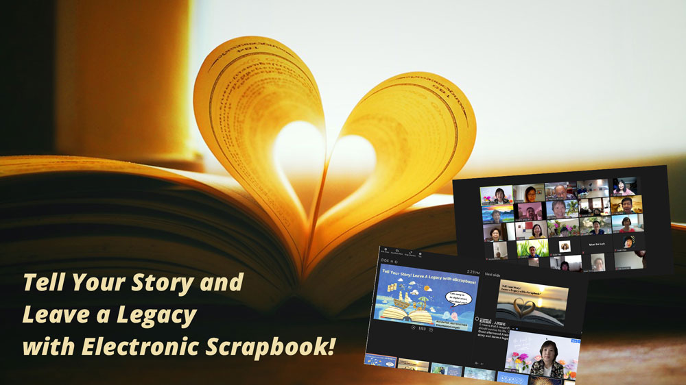 Tell Legacy story with eScrapbook