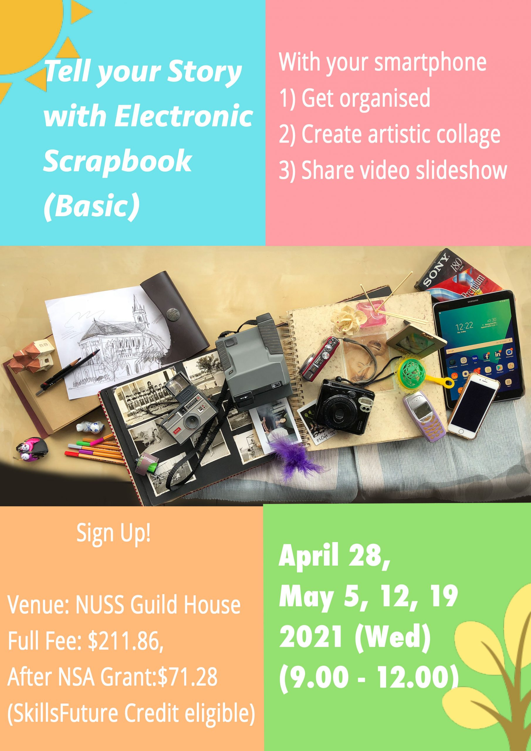 NUSS Tell Your Story with eScrapbook Basic
