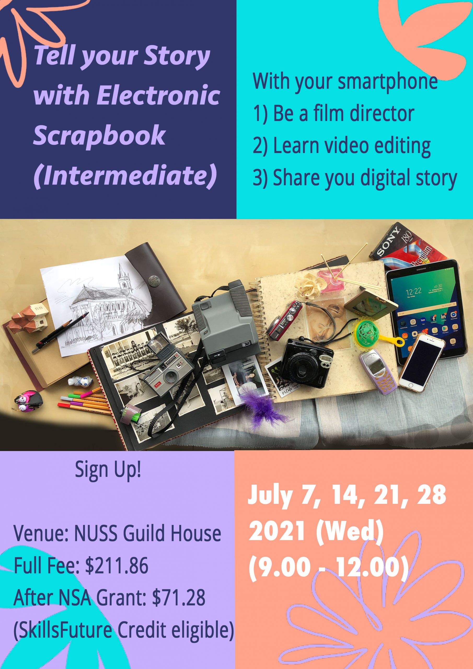 NUSS Tell Your Story with eScrapbook Intermediate