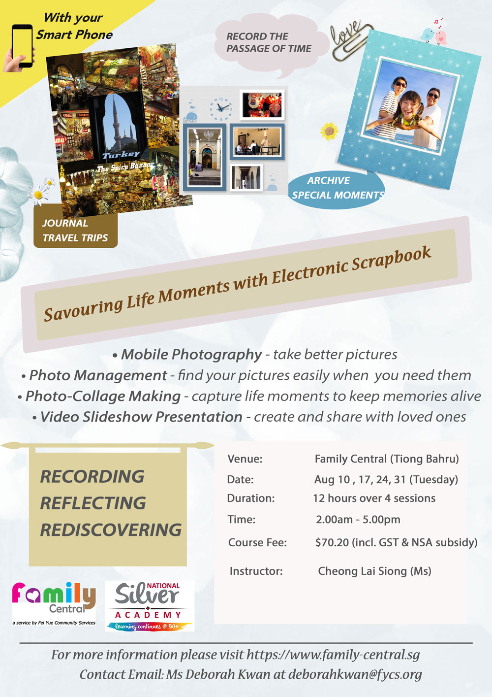 Family Central Savouring Life Moments with eScrapbook